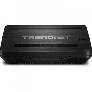 TRENDnet N150 Wireless N ADSL 2/2+ Modem Router 4 LAN 1 RJ11 WAN
