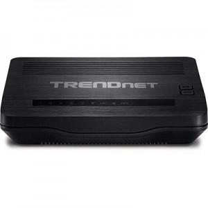 TRENDnet N300 WirelessADSL 2/2+ Modem Router 4 LAN 1 RJ11 WAN
