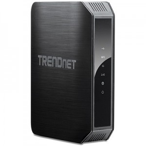 TRENDnet AC1200 Dual Band Wireless AC Router 4 Gb LAN 1 Gb WAN 1 USB