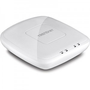 TRENDnet AC1200 Dual Band PoE Ceiling  Access Point 1 Gb LAN Includes controlor software