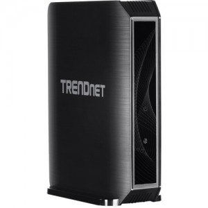 TRENDnet AC1750 Dual Band Wireless AC Router 4 Gb LAN 1 Gb WAN 1 USB Streamboost