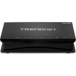 TRENDnet ADSL Fast Ethernet/USB Combination Modem Router /w 4-port Switch