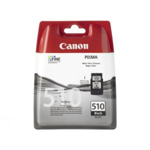 Canon PG-510 Black Cartridge with yield of 220 pages
