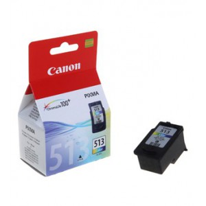 Canon CL-513 Colour Cartridge with yield of 349 pages