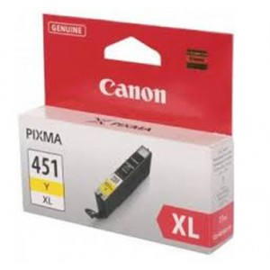 Canon CLI-451XL Yellow Cartridge with yield of 685 pages