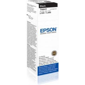 Epson Official Ink Cartridge T6641 Black for L100 L110 L300 L350 L355 L550