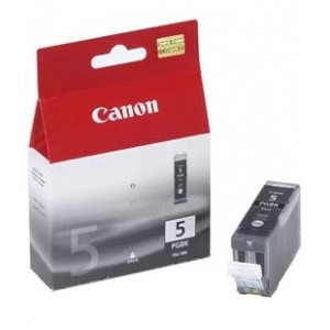 Canon PGI-5 Black Cartridge with yield of 360 pages