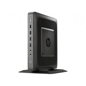 HP Thin Client T620 - DC, 4GB, 16GB SSD, 2 x DP, 1 x Flex Port, Win 7E K+M, 3-3-0