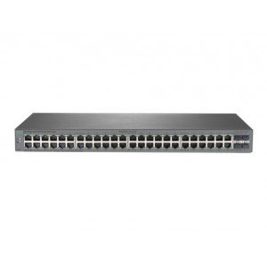 HP Switch (1820-48G Switch) 48 * RJ45 10/100/1000 ports + 4 SFP ports 100/1000Mps Ports