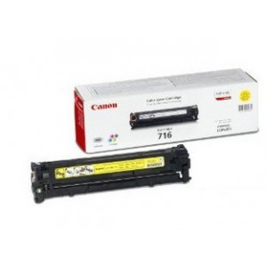 Canon 716 Yellow Cartridge with yield of 1500 pages