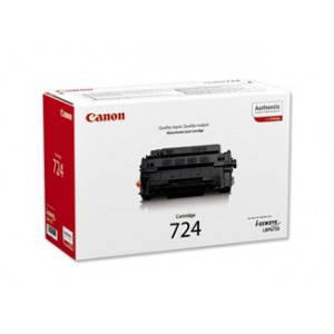 Canon 724 Black Cartridge with yield of 6000 pages