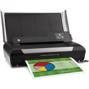 HP Officejet 150 Mobile Color All-in-One Inkjet (Multifunction) Printer (CN550A)