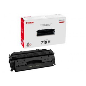 Canon 719H High Yield Black Cartridge with yield of 6400 pages