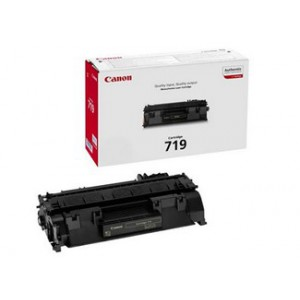 Canon 719 Black Cartridge with yield of 2100 pages