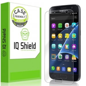 IQ Shield® LiQuidSkin Galaxy S7 Screen Protector - Anti-Bubble Film with Lifetime Warranty