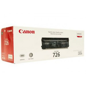 Canon 726 Black Cartridge with yield of 2100 pages