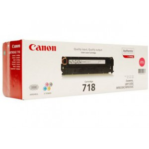 Canon 718 Magenta Cartridge with yield of 2900 pages