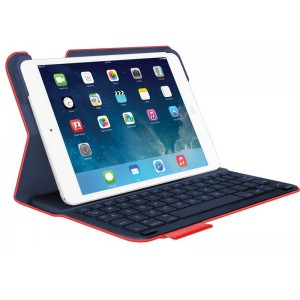 Logitech Ultra-thin Keyboard Folio iPad Air 2 with Bluetooth Keyboard - Refurbished (Red)