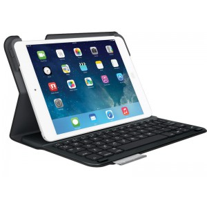 Logitech Ultra-thin Keyboard Folio iPad Air 2 with Bluetooth Keyboard - Refurbished (Black)