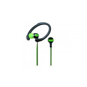 EARPHONE SPORTS HOOK CASE GREEN
