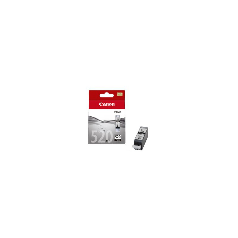 Canon PGI520 Black Single cartridge with yield of 324 pages