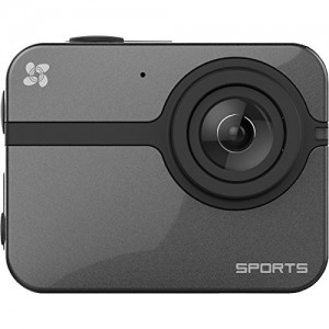 EZVIZ S1 Full HD Action Camera with Waterproof Housing 1080P 60FPS WiFi Enabled-Black