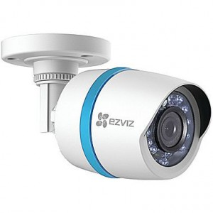Ezviz 1080p IP PoE Single Bullet Camera for Home Security System with 100ft Network Cable