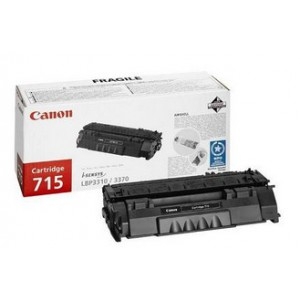 Canon 715 Black Cartridge with yield of 3000 pages