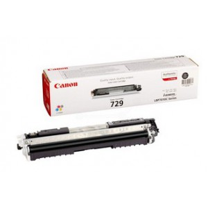 Canon 729 Black Toner Cartridge with yield of 1600 pages
