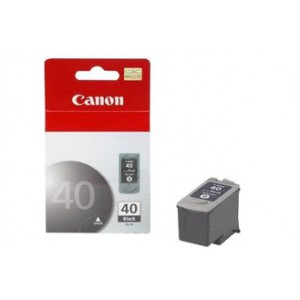 Canon PG-40 Black Cartridge with yield of 329 pages