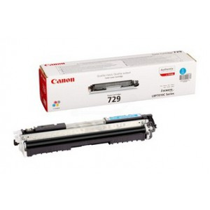 Canon 729 Cyan Toner Cartridge with yield of 1200 pages