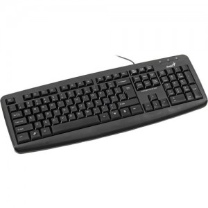 Genius KB-110X Basic Keyboard-Black
