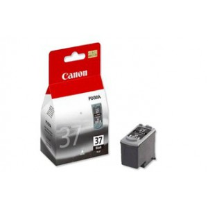 Canon PG-37 Black Cartridge with yield of 219 pages