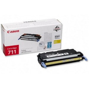 Canon 711 Yellow Cartridge with yield of 6000 pages