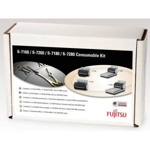 Fujitsu scanner consumable kit for fi-7140, fi-7240, fi-7160, fi-7260, fi-7180, fi-7280