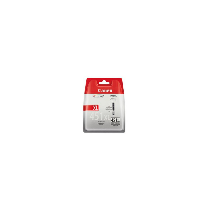 Canon CLI-451XL Grey Single cartridge with yield of 3350 pages