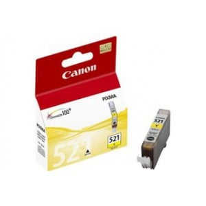Canon CLI521 Yellow Single cartridge with yield of 446 pages