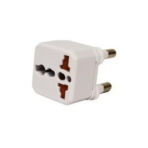 Gizzu Universal Travel White Adapter-GUTASA