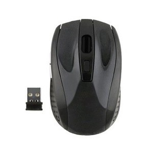 GIZZU 2.4GHZ WIRELESS MOUSE - BLACK