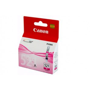 Canon CLI521 Magenta Single cartridge with yield of 446 pages