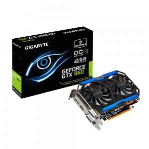 GIGABYTE NVIDIA GTX 960 OC EDITION 4096MB GRAPHICS CARD