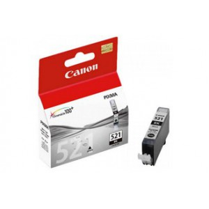 Canon CLI521 Black Single cartridge with yield of 1505 pages
