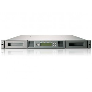 HP 1/8 G2 LTO-6 Ult 6250 SAS Autoloader, add AH166A for rack kit