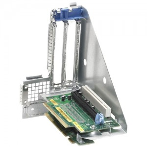 Dell R630 PCIe Riser for up to 2, x16 PCIe Slots for x8, 2 PCIe Chassis with 2 Processors,CusKit