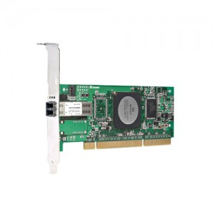 Dell QLogic QLE2460 Single Channel 4Gbps Optical Fibre Channel HBA, PCIe, Low Profile - Kit