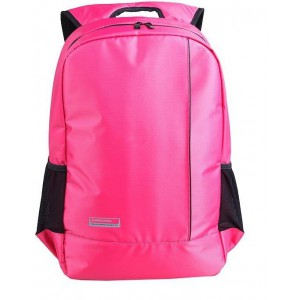 Kingsons - 15.6 Laptop Backpack, Casual Series, Nylon - Pink