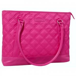 Kingsons - Vogue Series - 15.6 Ladies Laptop Shoulder Bag - Pink