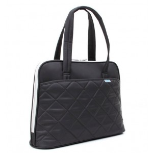 Kingsons 15.4'' Ladies Laptop Shoulder Bag - Black