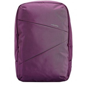 Kingsons - 15.6 Laptop Backpac - Purple