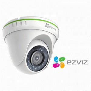 EZVIZ 720P TVI DOME W/1800CM CABLE